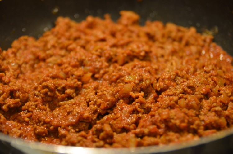 homemade taco meat